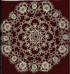 Round Robin Tatted Doily Pattern