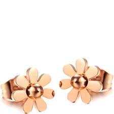 18Ct Rose Gold Earrings