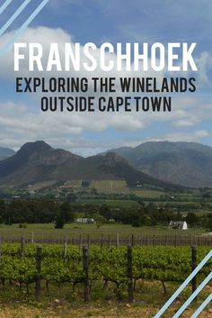 From wine farms, gourmet food and charm to French history, this small town a short drive from Cape Town is a great choice for a weekend roadtrip. South Afrika, Wine Safari, Road Trip, Namibia, Cape Town South Africa, Parc National, Best Places To Travel, Africa Travel, Travel Inspiration