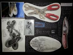 A great IGCSE Art project by Aoife Ong at Mutiara International Grammar School in Malaysia - in response to the theme 'knotted'.