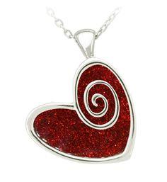 Heart pendant £14.50