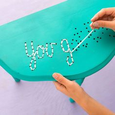 Love this easy DIY thats all about upgrading your furniture.