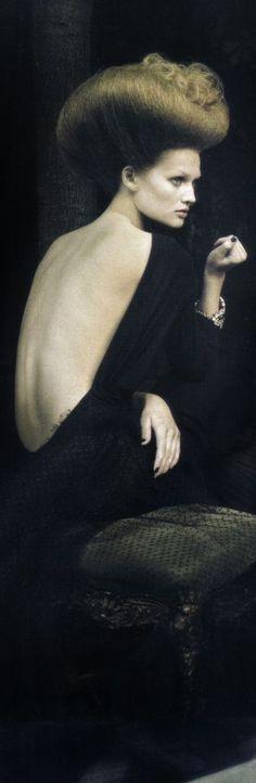 "Toni Garrn ""A dream of a dress"" (cropped) // Paolo Roversi"