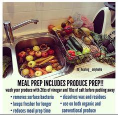 Fruit & Vegetable Prep