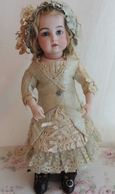 Antique Circle Dot Bru French Doll Size 1 Antique French Doll Exquisite | eBay