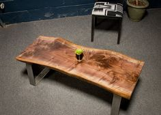 YOUR CUSTOM Live Edge Black Walnut Coffee Table - Natural - Rustic - Modern