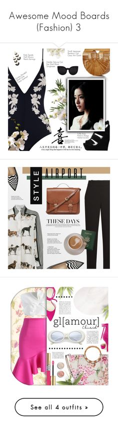 """""""Awesome Mood Boards (Fashion) 3"""" by queenrachietemplateaddict ❤ liked on Polyvore featuring Zimmermann, Pier 1 Imports, Truffle, WALL, Delalle, Kate Spade, The Row, STELLA McCARTNEY, Nicholas Kirkwood and Royce Leather"""
