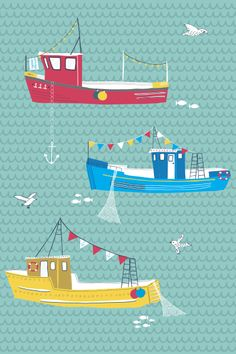 Jessica Hogarth #coastal illustration