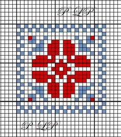Petit carré n 33 - Lin Pulsion Cross Stitch Bookmarks, Cross Stitch Kits, Counted Cross Stitch Patterns, Cross Stitch Charts, Cross Stitch Designs, Hand Embroidery Stitches, Embroidery Hoop Art, Cross Stitch Embroidery, Cross Stitch Cushion