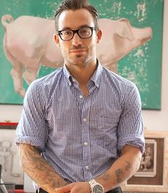 Michael Chernow, co-owner of The Meatball Shop in Brooklyn, NYC.