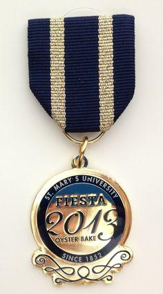 St. Mary's 2013 Fiesta Oyster Bake medal #OysterBakeAdventures