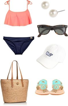 I'm a sucker for navy and coral.
