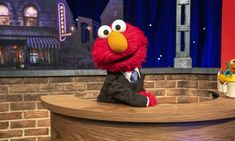 Late Night Comedy, Late Night Talks, Stephen Colbert, Jonas Brothers, Elmo, Sesame Street Puppets, Van Jones, Tv Star