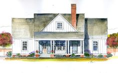 Magnolia Cottage - Southern Living Homes Plan SL-1845 Would be perfect with a basement