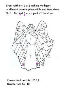 IRIS folding patterens | iris folding This is beautiful