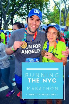 What it was like running the New York City Marathon