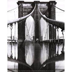 Evive Designs Brooklyn Bridge Photographic Print