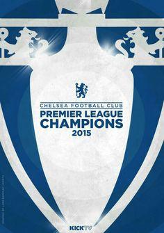 The portfolio of Luke Barclay, a London-based Graphic Designer & Art Director. Chelsea Football, Chelsea Fc, Chelsea Champions, Premier League Champions, Stamford Bridge, Fulham, Love Affair, Blues, Soccer