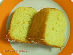 bizcocho de claras y naranja Con pan y postre