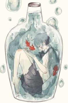 Anime in a Bottle