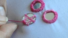 Hand Embroidery: Mirror Work