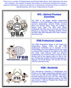 Fitness Competition Leagues
