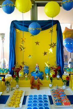 Little Prince themed bday party...my child will definitely have one.