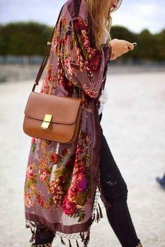 Vintage Calfskin Hair Brown Leather Shoulder Bag / High Fashion Style