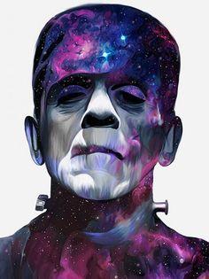 Nicky Barla fan-art - La créature de Frankenstein
