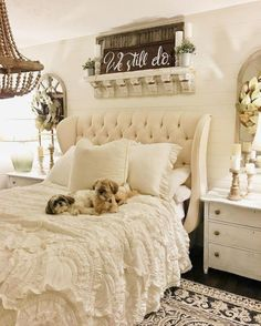 Love this bedding shabby chic master bedroom, romantic bedroom decor, shabby chic living room Shabby Home, Shabby Chic Apartment, Shabby Chic Interiors, Shabby Chic Furniture, Vintage Furniture, Italian Furniture, Distressed Furniture, Cottage Interiors, Industrial Furniture