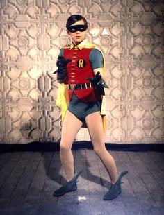In Season the dynamic duo, Batman (Adam West) and Robin (Burt Ward), are… Batman Robin, Real Batman, Batman Tv Show, Batman Tv Series, Batman 1966, Superman, Batman 2, Batman Stuff, Batgirl