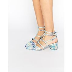 ASOS SPECTACLE Caged Pointed Heels