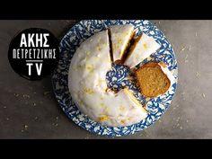 Κέικ λεμονιού από τον Άκη Πετρετζίκη. Φτιάξτε το πιο νόστιμο και αφράτο κέικ με λεμόνι και γλάσο λεμονιού! Ιδανικό για τον καφέ σας! Oatmeal, Ice Cream, Cooking, Breakfast, Desserts, Recipes, Cakes, Food, Youtube