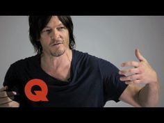 Walking Dead's Norman Reedus Needs These to Survive a Zombie Apocalypse -- 10 Essentials -- GQ Boob pillows, bunny slippers, and rubbing girls into his neck. Gahhhhhh