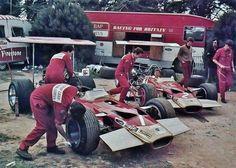 Paddock Life :  Lotus F1 1969