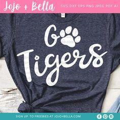 Football Mom Shirts, Autumn T Shirts, Make Your Own Stickers, Cheer Mom, Silhouette Designer Edition, Mug Designs, Cricut Design, Wall Art, Tigers
