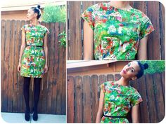 Garden Dress  http://lookbook.nu/look/3255711-Garden-Dress-I-STARTED-A-BLOG-TODAY-go-look