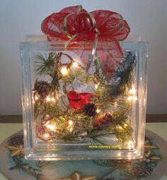 glass block crafts ideas - Google Search