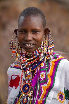 Africa | Maasai woman, Selenkay Conservancy, Kenya | © Ariadne Van Zandbergen