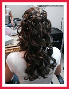 half up wedding hairstyles | bridal hairstyles half up half down with veil pictures blog photos ...