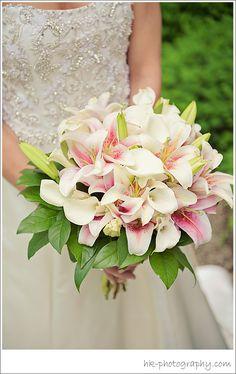 Wedding Flowers Lilies | HK Photography CT