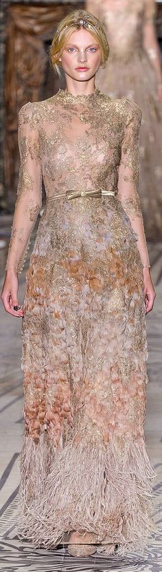 Stunning for Crown Princess Stephanie of Luxembourg. It looks so much like her wedding gown.