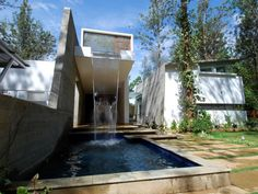 Architecture Paradigm designed the House of Pavilions in Bangalore, India.