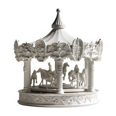 Merry-Go-Round Clock - so beautiful!  The perfect piece for the nursery and to be passed on from generation to generation-- over time...