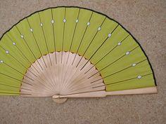 SUPERSIZE KYOSHI Warrior WEAPONS Hand Fan Wooden von DengraDesigns