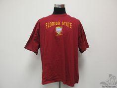 Vtg Lee Sport Florida State Seminoles 2000 Sugar Bowl Nation Champs Shirt sz 2XL #LeeSport #FloridaStateSeminoles