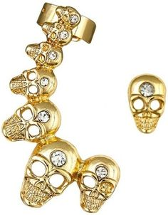 Latest gothic, alternative-fashion and contemporary ear-cuffs best for college  online via @roposolove