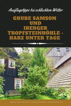 Ausflugstipps im Harz: Bergwerk Grube Samson und Iberger Tropfsteinhöhle - Urlaub im Harz nicht zum Reisen mit Kindern und dem Familienurlaub perfekt - auch so eine Reise wert - Sehenswürdigkeiten und Natur und Reisetipps #harz #deutschlandurlaub #reisen