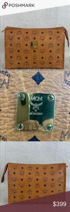 31ccfdd1a3 MCM LARGE CLUTCH BAG 💯AUTHENTIC 👑 MCM LARGE CLUTCH BAG 💯AUTHENTIC ! IT
