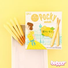 Pocky Midi Biscuit Sticks - Lemon Cheesecake